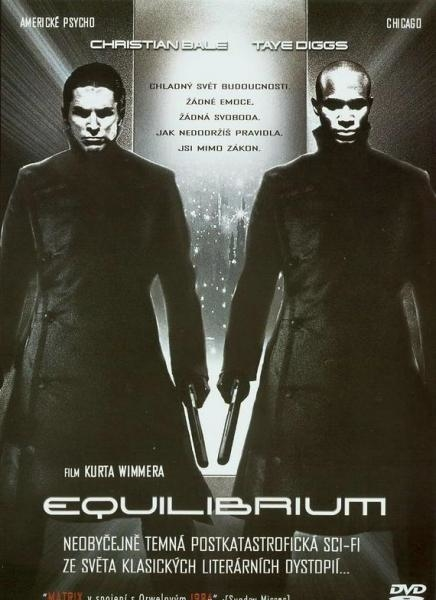 Sleduj online akční, drama, science fiction, thriller Equilibrium na HBO3!