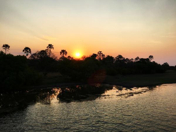 Po řece Zambezi