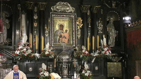Msza święta z Jasnej Góry