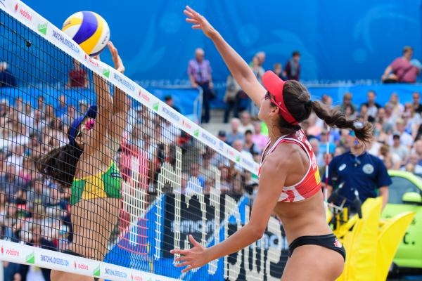 FIVB Beach Volleyball – Moskva 23.8.2019