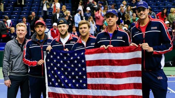 Tímy snov - Davis Cup Team USA a Španielsko