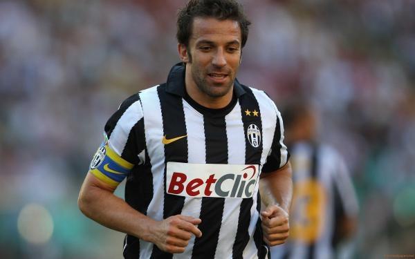 Futbaloví Velikáni - Del Piero