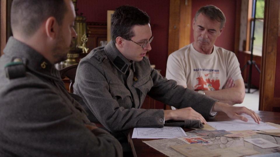 Dokumentarci LEGIE 100 - Slovenská válka