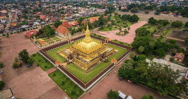 Laos z výšky