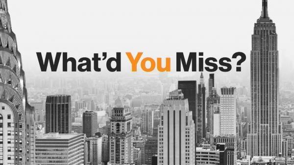 Sleduj online business, zprávy What'd You Miss? na Bloomberg!