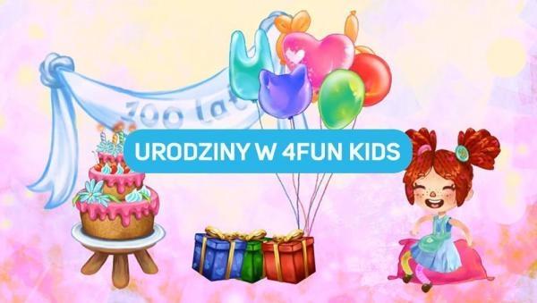 Urodziny w 4FUN KIDS