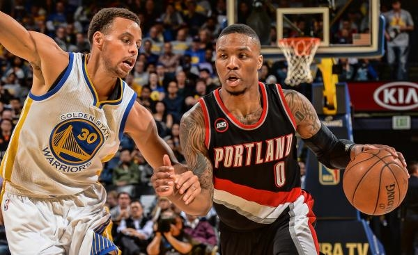 Sleduj online basketbal Golden State Warriors - Portland Trail Blazers na !