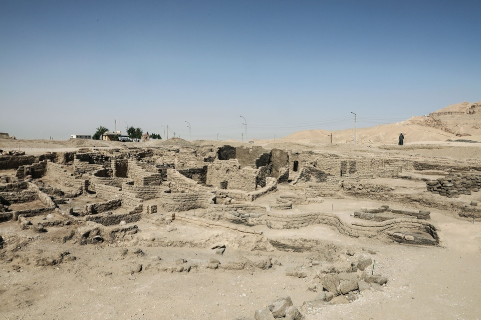 Dokument Faraonovo ztracené město