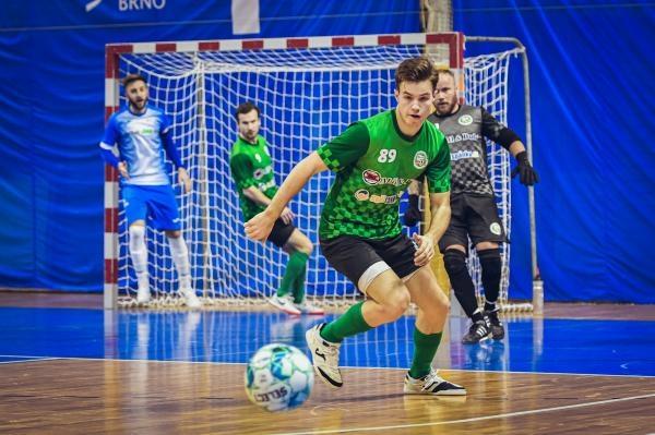 Futsal: Helas Brno - Žabinští Vlci Brno