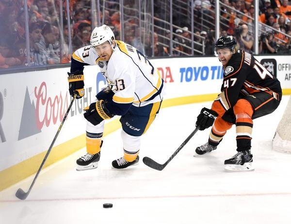 Anaheim Ducks - Nashville Predators